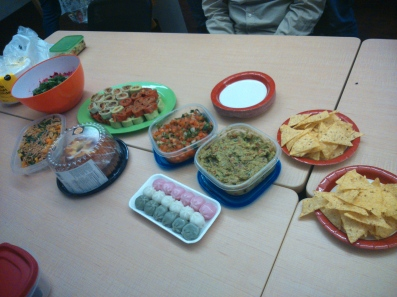 First Potluck with SFUDC2015