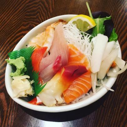 Sushi Sashimi Don