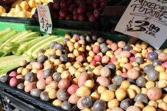 Vegetables at Public Market