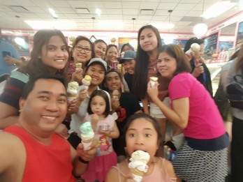 © DAG: My family at La Casa Gelato